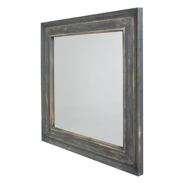 Set de espejo con 2 flores panamericana for Espejo marco gris