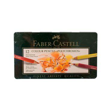 lapiz-de-color-para-artistas-faber-castell-polychromos-x-12-uds--4005401100126