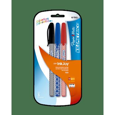 boligrafo-kilometrico-x-3-negro-azul-y-rojo-71641116375