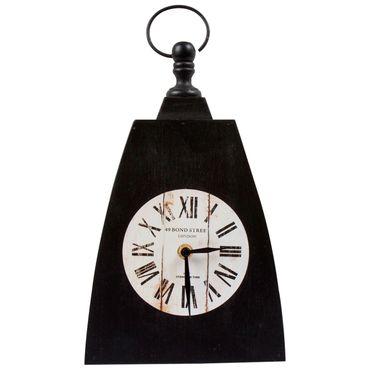Reloj de mesa 45 x 15 cm MDF 2 Fotos Café - Panamericana dfd684b64db7