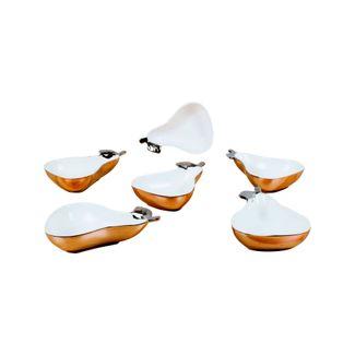 set-de-platos-x-6-piezas-con-borde-plateado-peras-7701016202589