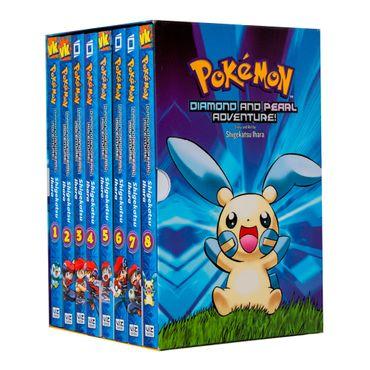 pokemon-diamons-and-pearl-adventure-manga-box-set-volumes-1-8-9781421542416