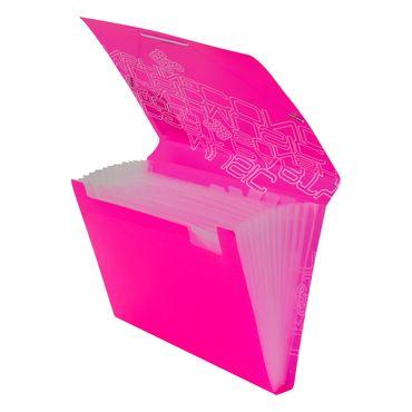 archivador-fuelle-a4-13-bolsillos-rosado-neon-6932717101715