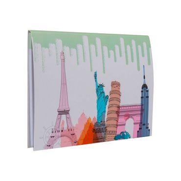Forro para cuaderno cosido transparente - Panamericana