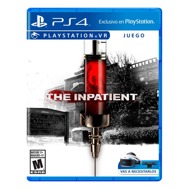 Juego The Inpatient Vr Para Ps4 Panamericana