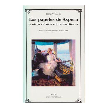 los-papeles-de-aspern-y-otros-relatos-sobre-escritores-9788437636238