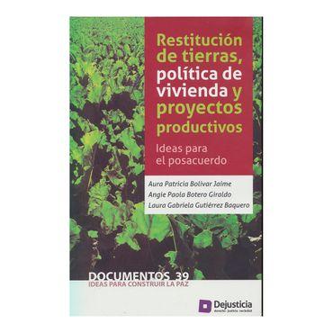 restitucion-de-tierras-politica-de-vivienda-y-proyectos-productivos-9789585441187