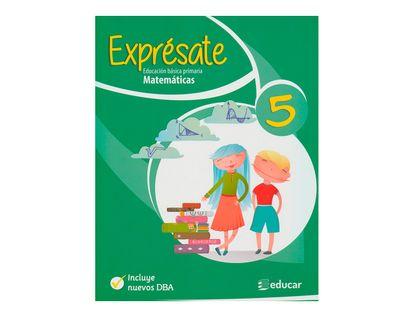 expresate-matematicas-5-9789580517597