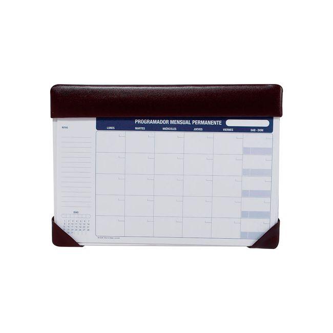 Organizador – Planeador para escritorio mensual, permanente ...