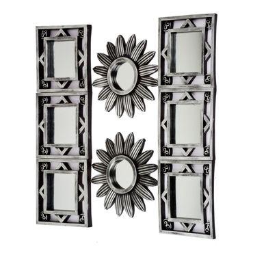 set-de-espejos-con-diseno-de-girasoles-7701016291408