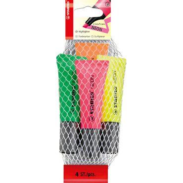 resaltador-stabilo-neon-x-4-4006381401326
