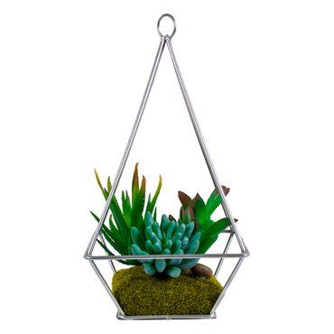planta-artificial-del-desierto-25cm-plateado-piramide-metalico-7701016312134