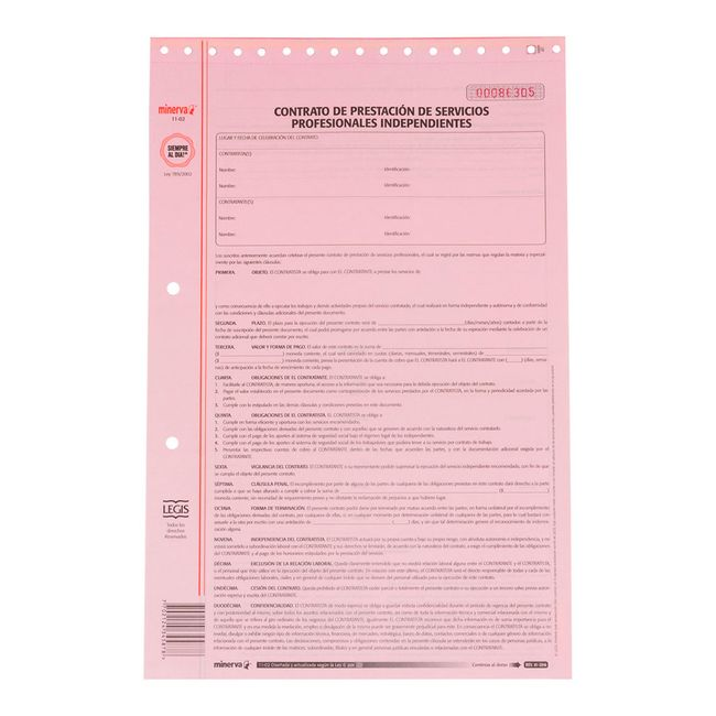 Contrato de prestaci n de servicios profesionales Contrato de trabajo indefinido servicio hogar familiar