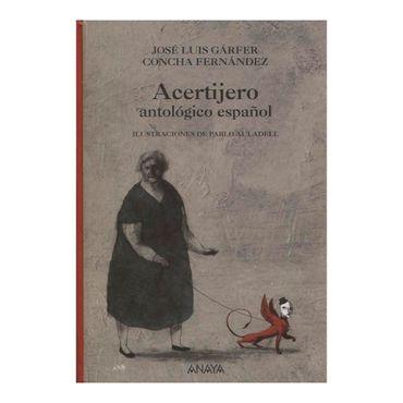 acertijero-antologico-en-espanol-9788466776912