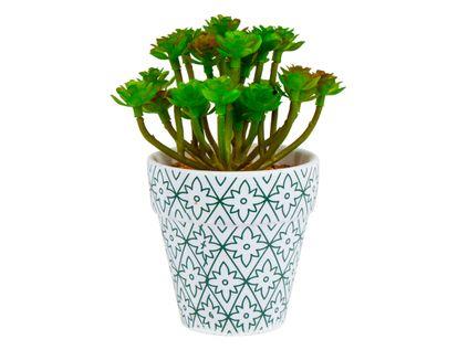 planta-artificial-14cm-flores-verde-jarron-de-arcilla-con-piedras-7701016270359
