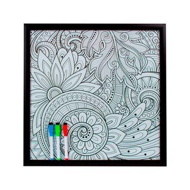 cuadro-mandala-44-x-44-cm-blanco-y-negro-7701016268851