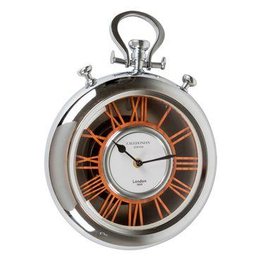 reloj-de-pared-con-forma-de-cronometro-plateado-con-cafe-7701016269841