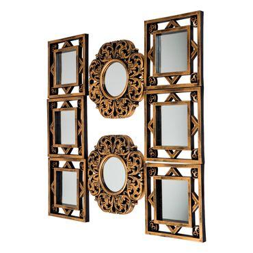 set-de-8-espejos-con-decoracion-de-arabescos-7701016291439