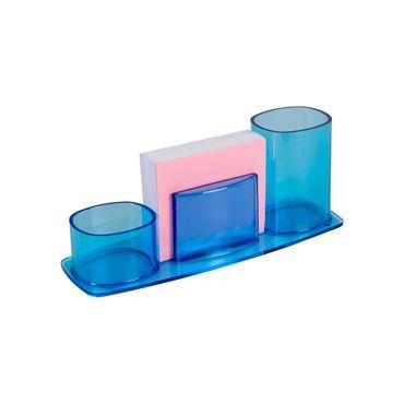 organizador-millenium-en-acrilico-azul-taco-7896292274020