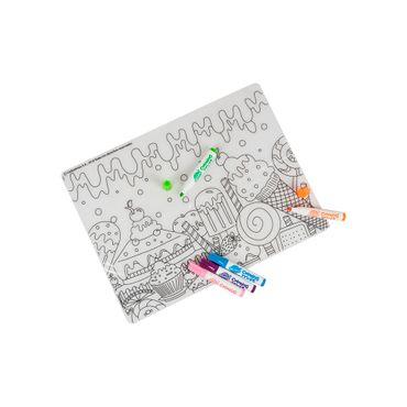 kit-de-marcadores-coloring-mat-con-individual-lavable-para-colorear-753070051952
