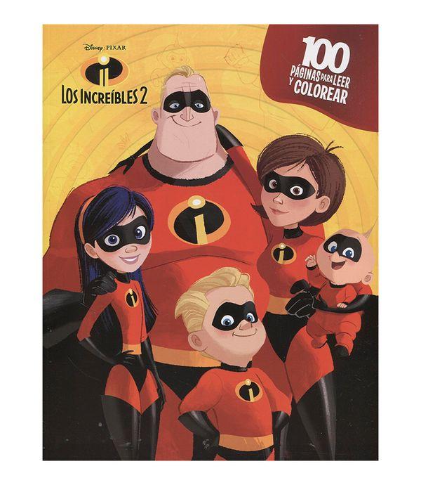 Los Increíbles 2 100 Páginas Para Colorear Panamericana New