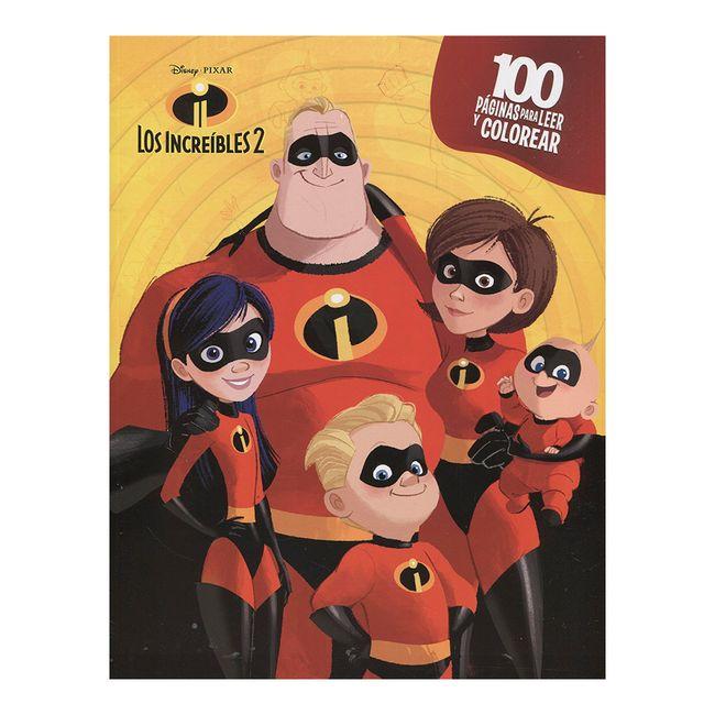 Los Increíbles 2 (100 páginas para colorear) - Panamericana