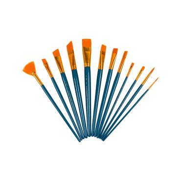 set-pincel-12-piezas-taklon-oro-90672060471