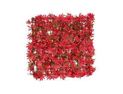 cesped-sintetico-hojas-rojo-verde-7701016370370