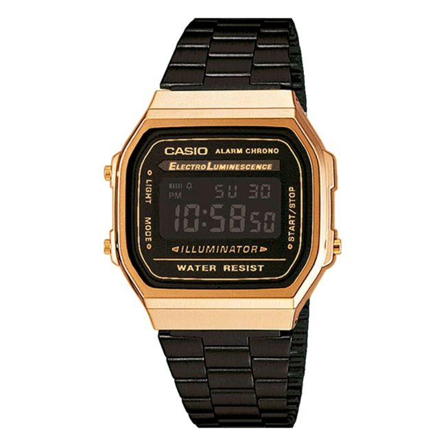 86add8f683ba Reloj digital Casio unisex A168WEGB-1BDF