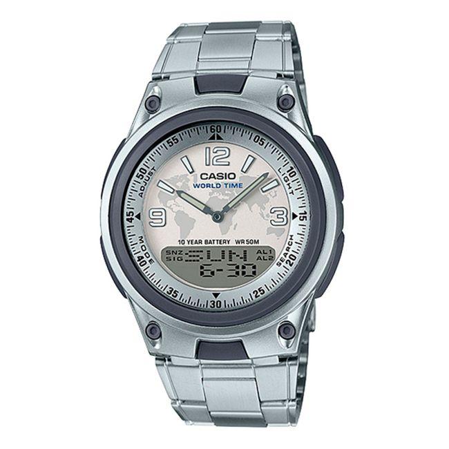 539c1cf11874 Reloj Casio analógico digital AW-80D-1A2VDF para hombre