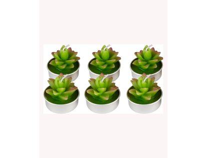 set-de-velas-6-piezas-planta-carnosa-verde-morado-3300110017125