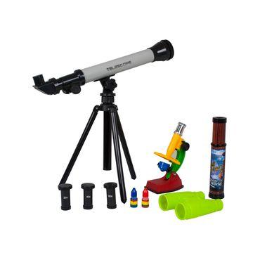 set-laboratorio-de-ciencia-con-telescopio-4-piezas-7701016202886