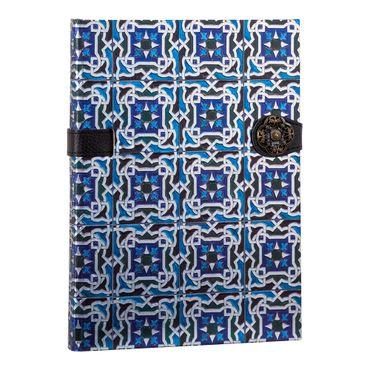 libreta-ejecutiva-de-tonos-azules-hojas-rayadas-diseno-azulejos-1-9788416055296