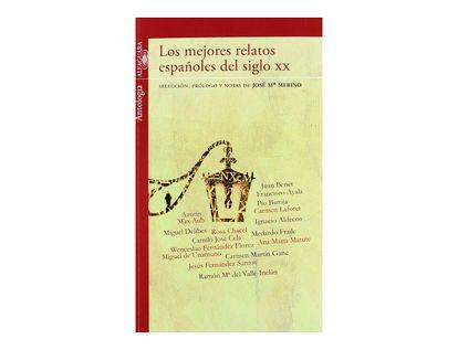 los-mejores-relatos-espanoles-del-siglo-xx-9788420411385