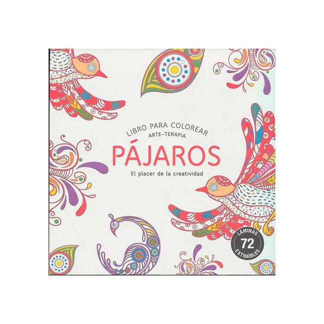 Pájaros. Libro para colorear (arte-terapia) - Panamericana