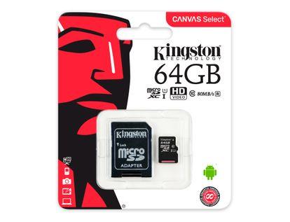 memoria-micro-sd-kingston-canvas-64-gb-740617274769
