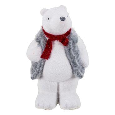 oso-polar-mano-arriba-con-chaleco-y-bufanda-roja-20-cm-7701016477574