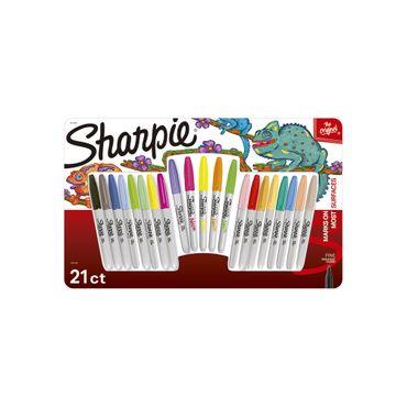 Marcador Sharpie x 30 unidades + hojas para colorear - Panamericana