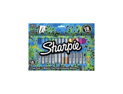 Marcador-permanente-Sharpei-Fino-x-18-unidades