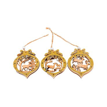 Bolas-doradas-con-renos-en-madera-x-3-unidades---7.5-cm