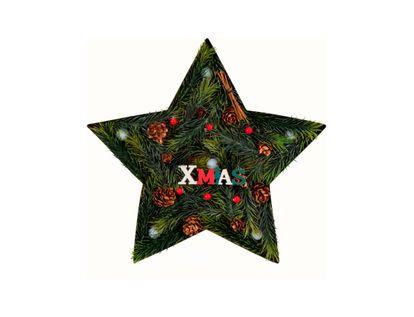 Estrella-con-luz-LED-XMAS-con-piñas---28.5-cm