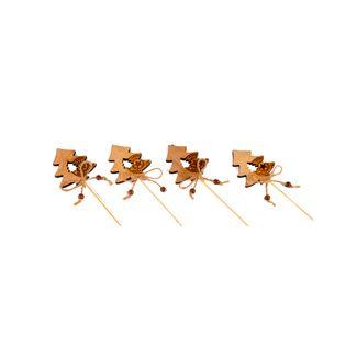 Arbol-decorativo-x-4-unidades-en-madera---30.5-cm