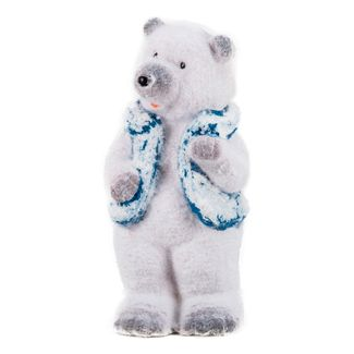 Oso-polar-mano-levantada-con-chaleco---20-cm