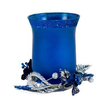 Candelabro-azul-mate