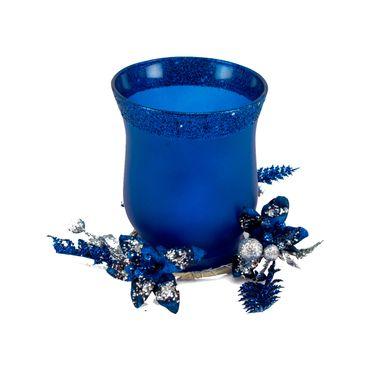 Candelabro-azul-mate-escarchado