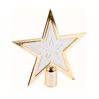 Estrella-punta-de-arbol-dorada
