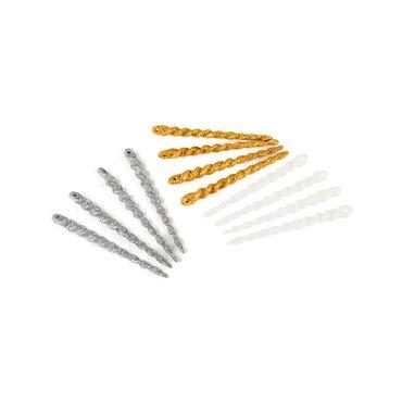 Set-12-adornos-navideños-escarchados-gris-dorado-y-blanco