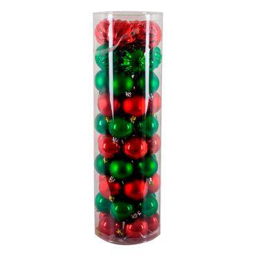 Set-de-bolas-navideñas-por-48-piezas-rojas-y-verdes