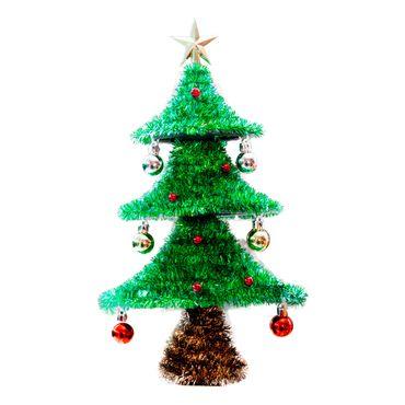 Arbol-de-navidad-pequeño-con-esferas-y-frutos-rojos