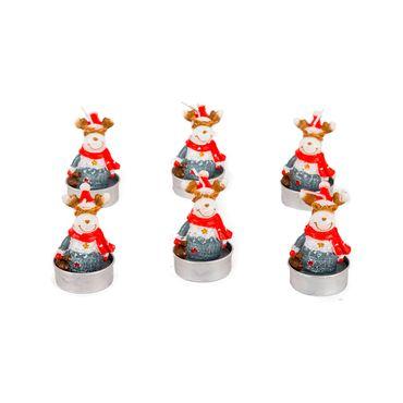 set-de-velas-reno-con-bufanda-x-6-7701016473590